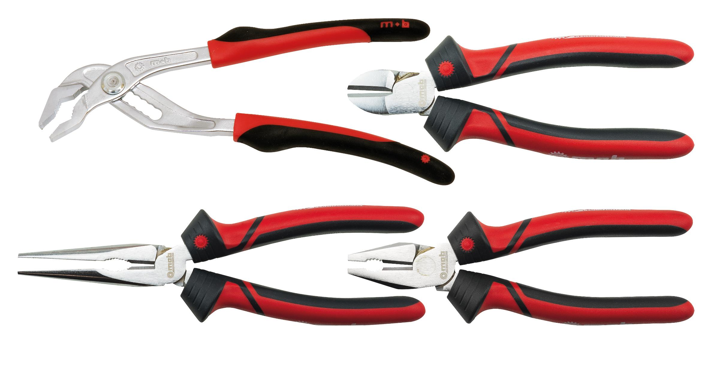 SET OF 4 BI-MATERIAL PLIERS | e-catalog MOB-Peddinghaus